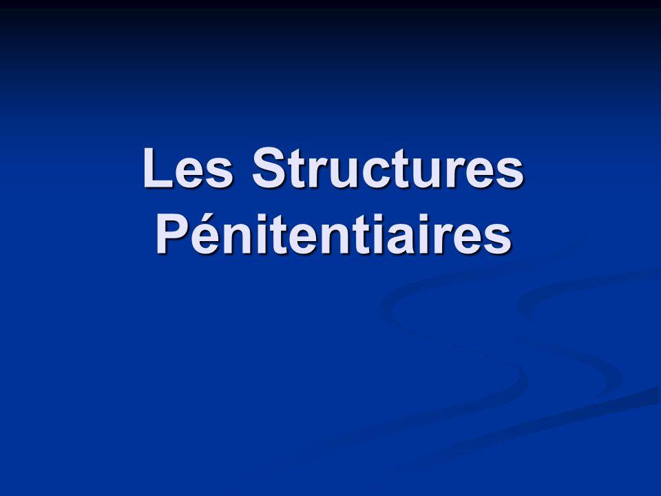 Les Structures Pénitentiaires