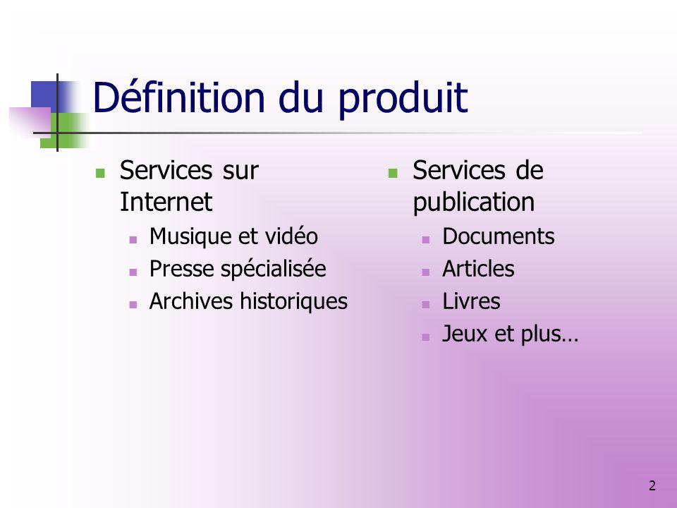 iMédia Plan Marketing proposé Marie Demol Directrice générale des ventes