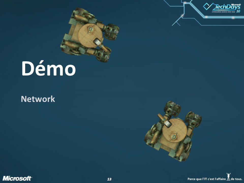 13 Démo Network