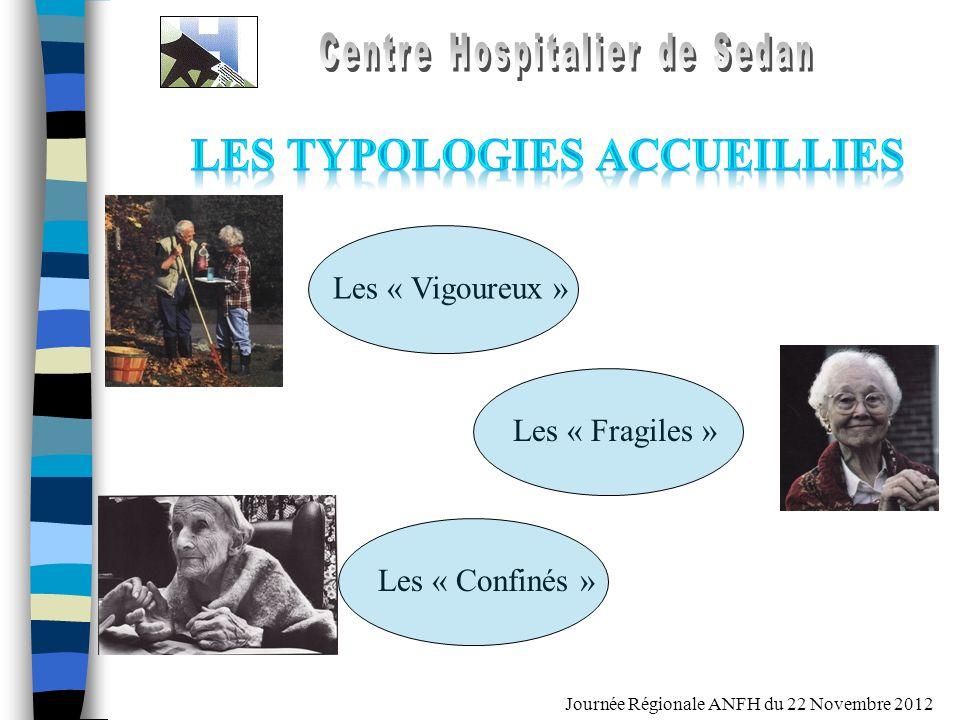 Journée Régionale ANFH du 22 Novembre 2012 Les « Vigoureux » Les « Fragiles » Les « Confinés »