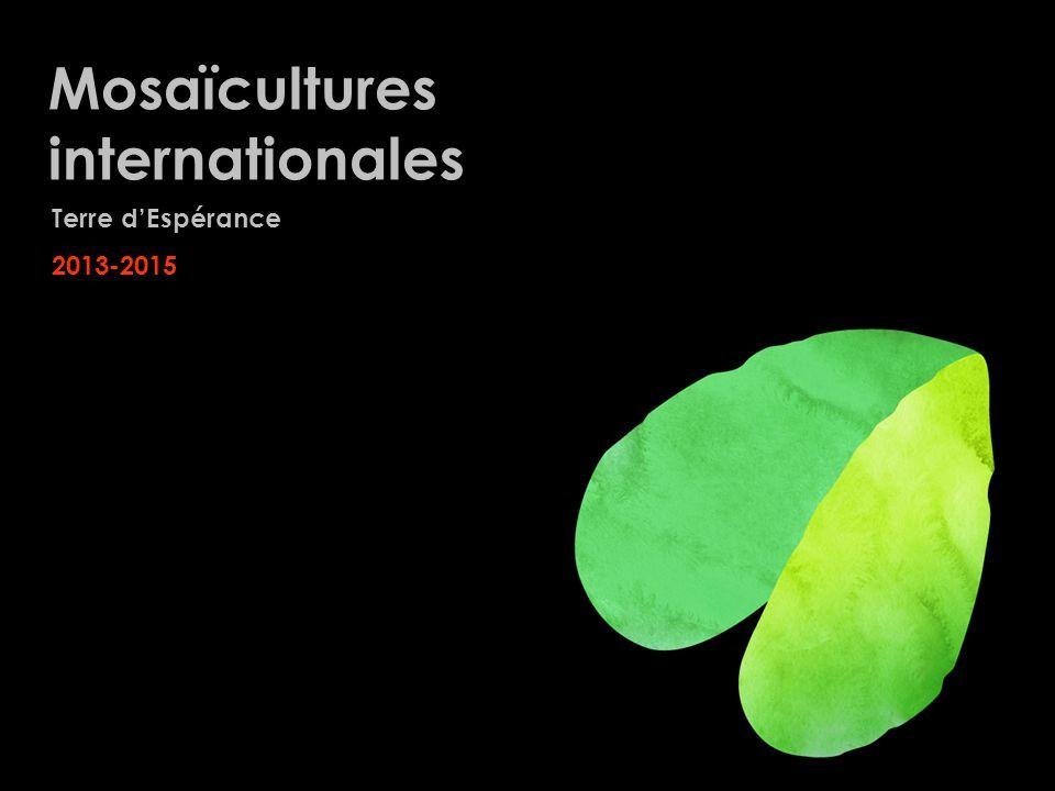 Mosaïcultures internationales Terre dEspérance 2013-2015