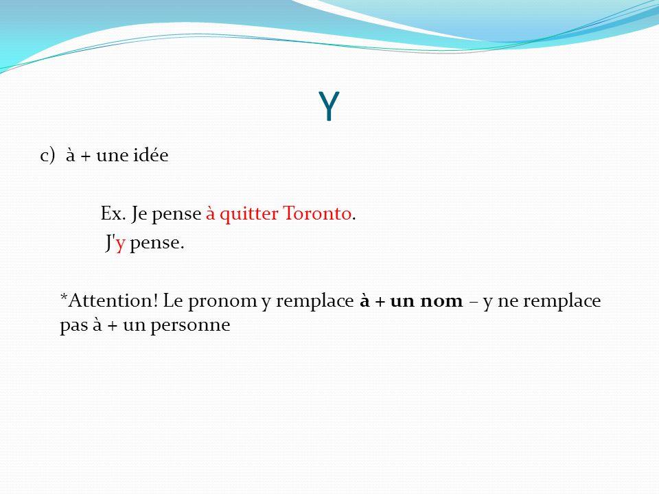 En Le pronom en peut remplacer les noms COD introduits par un article partitif (de, du, de l , de la, des).
