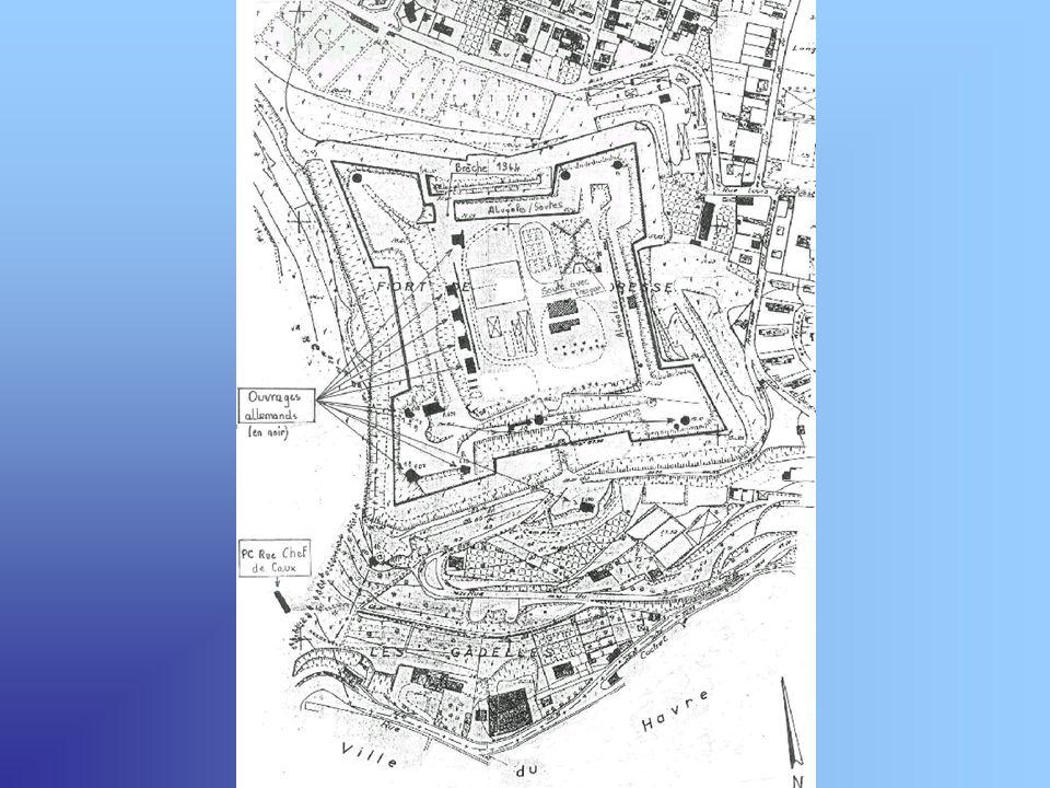 Forteresse édifiée à la fin du 19 eme siècle sur le principe des forts Vauban Edifié à la fin du 19e siècle par des prisonniers russes de la guerre de Crimée (qui opposa la France, la Grande Bretagne, lEmpire ottoman et le Piémont à la Russie, entre 1854 et 1855), le fort de Sainte-Adresse fût mis à la disposition des troupes en 1893.