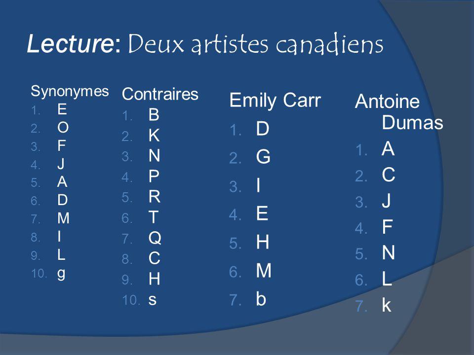 Culture: Unité 1 1.Filles du Roi (p.4 & 6manuel) 2.