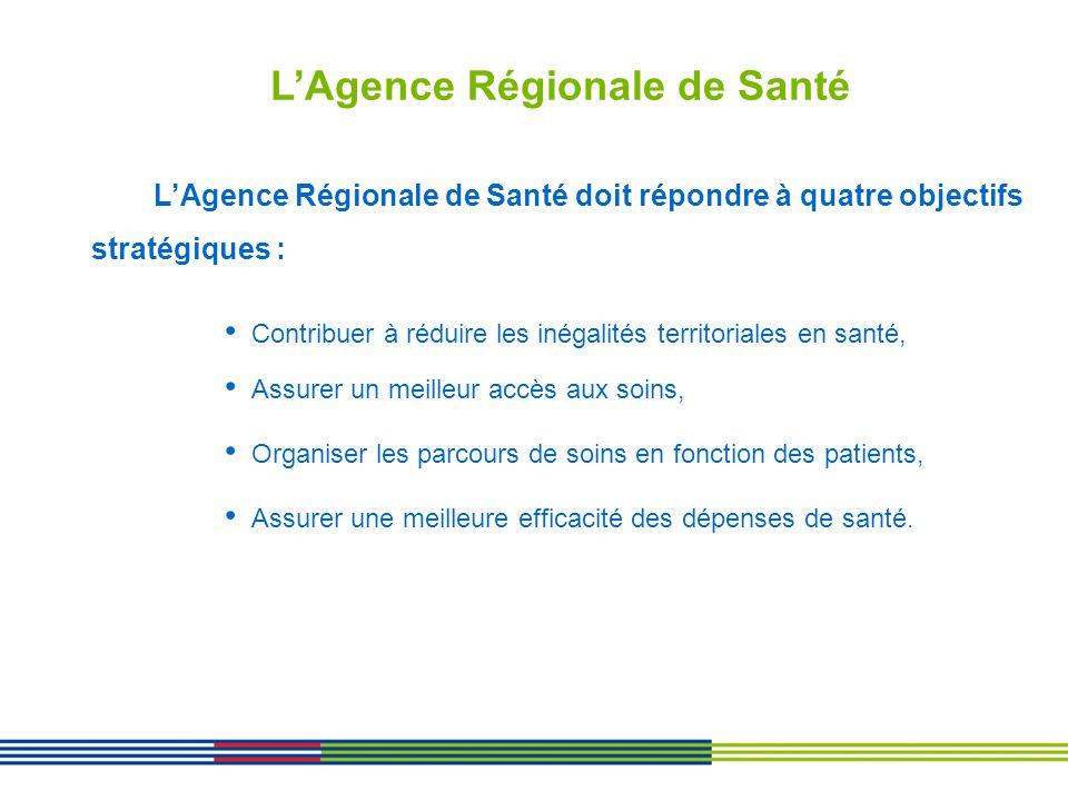 Contribuer à réduire les inégalités territoriales en santé, Assurer un meilleur accès aux soins, Organiser les parcours de soins en fonction des patie