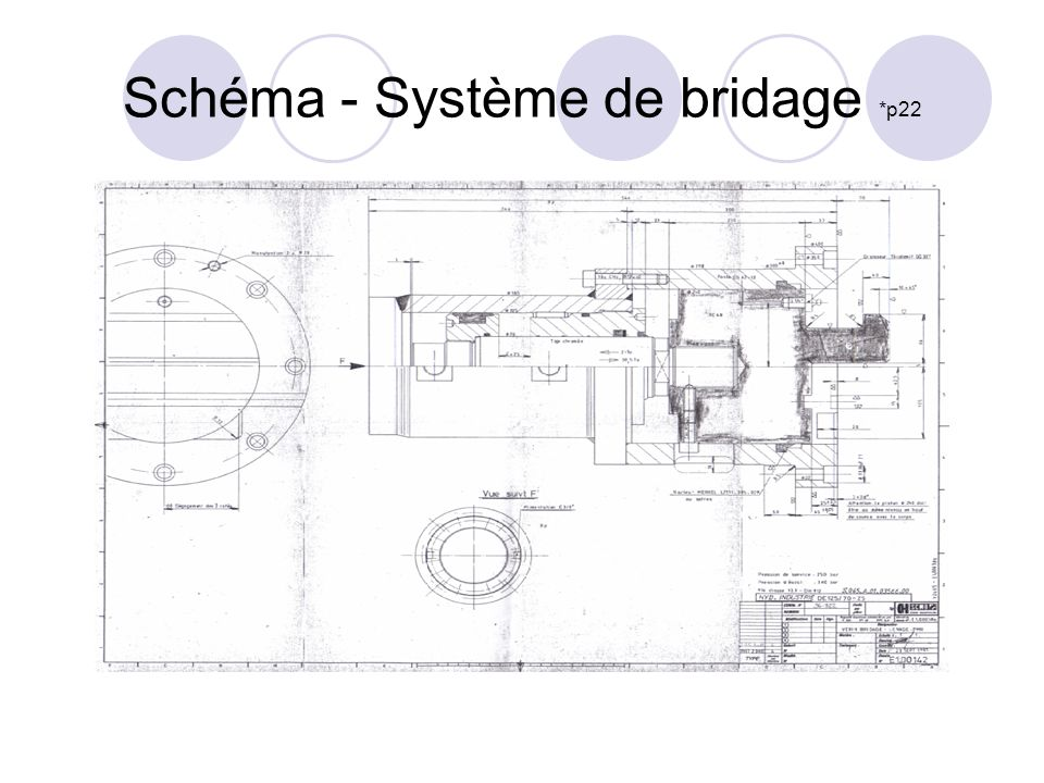 Schéma - Système de bridage *p22