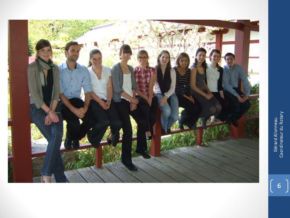 17 Un regroupement des programmes du Rotary pour la jeunesse 1 Gérard Allonneau Coordinateur du Rotary