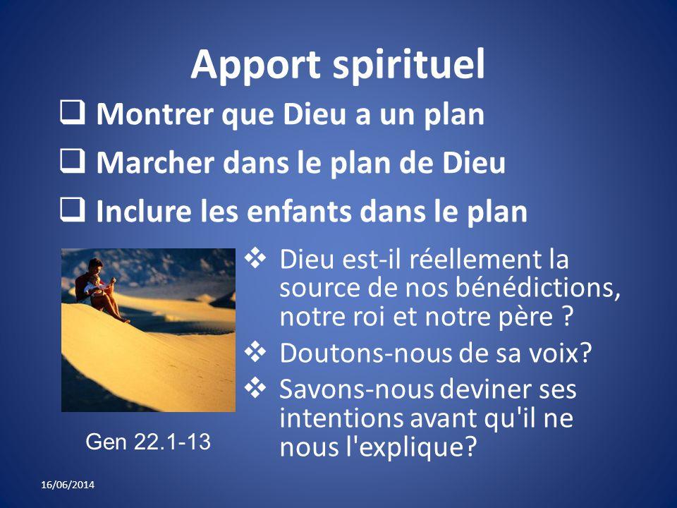 Apport spirituel Dieu est-il réellement la source de nos bénédictions, notre roi et notre père .