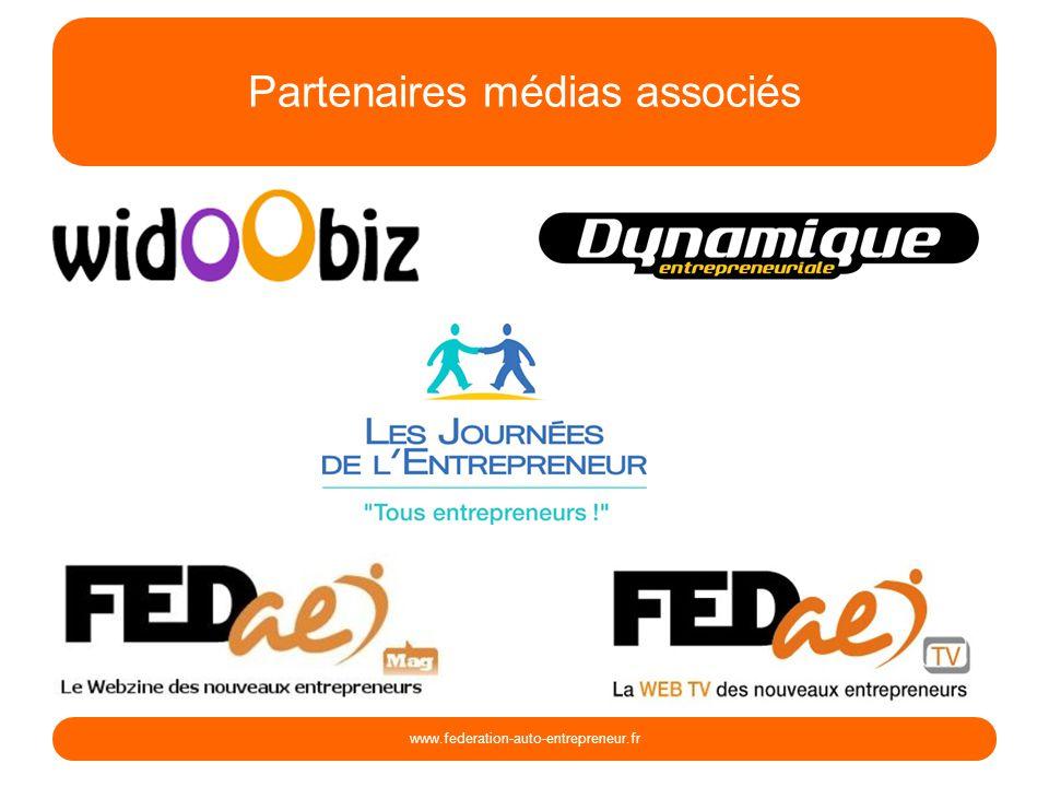 Partenaires médias associés www.federation-auto-entrepreneur.fr
