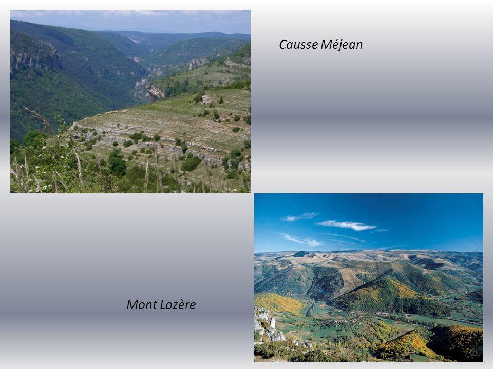 le Mont Aigoual (Centre Météo au sommet) Cirque de Navacelles