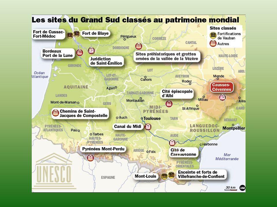 Ainsi que la Basilique de Vézelay, et les monuments d Arles ou d Orange