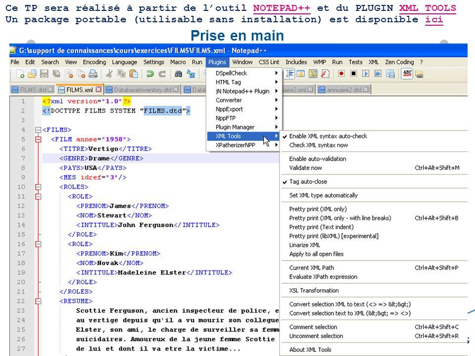 3 Support des connaissances – IO MER M2 – Pierre SOURNAC « eXtensible StyleSheet Language Transformation » Une feuille de style XSLT est un document XML utilisant des éléments du namespace XSL identifié par lURI http://www.w3.org/1999/XSL/Transform utilisation du préfixe xsl: pour désigner les éléments du namespace XSLT Structure Générale : …..