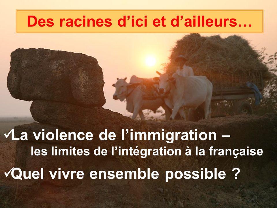 La violence de limmigration – les limites de lintégration à la française Quel vivre ensemble possible .