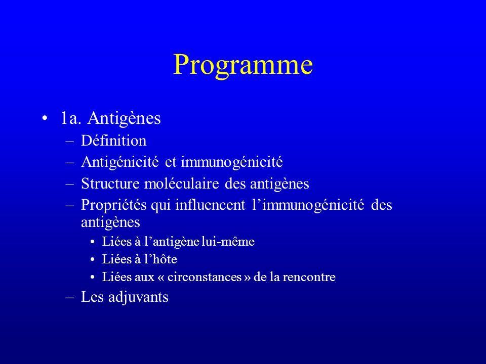 Programme 1a.