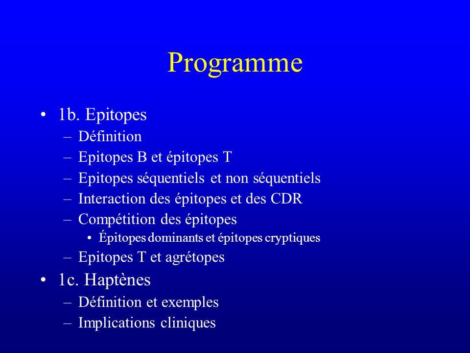 Programme 2a.