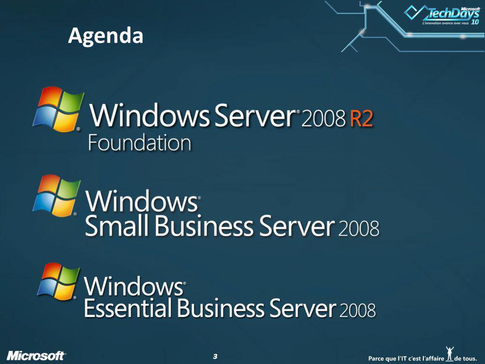 44 Windows Essential Business Server 2008 Console dadministration et assistants