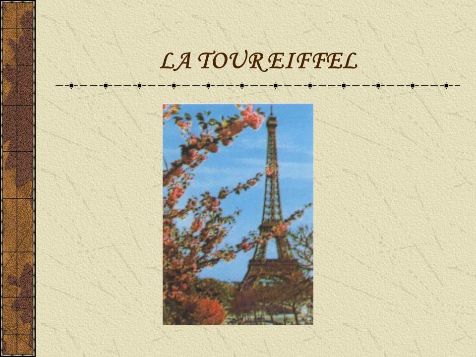 La Tour Eiffel La tour Eiffel est une tour de fer puddlé construite par Gustave Eiffel et ses collaborateurs pour l exposition universelle de 1889.