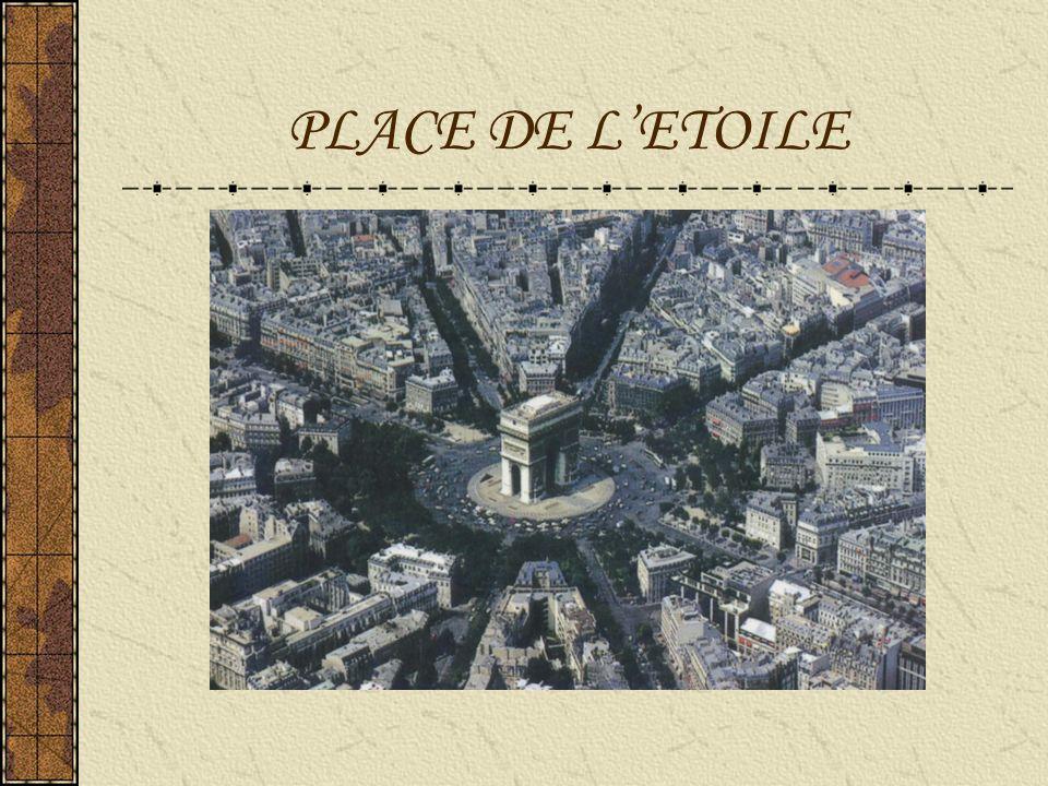 PLACE DE LETOILE