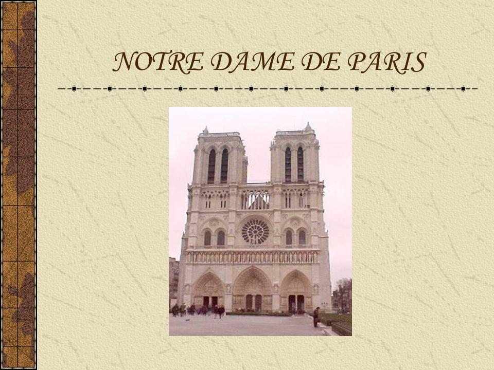 Cathédrale Notre-Dame de Paris Notre-Dame de Paris est la cathédrale de l archidiocèse catholique de Paris.