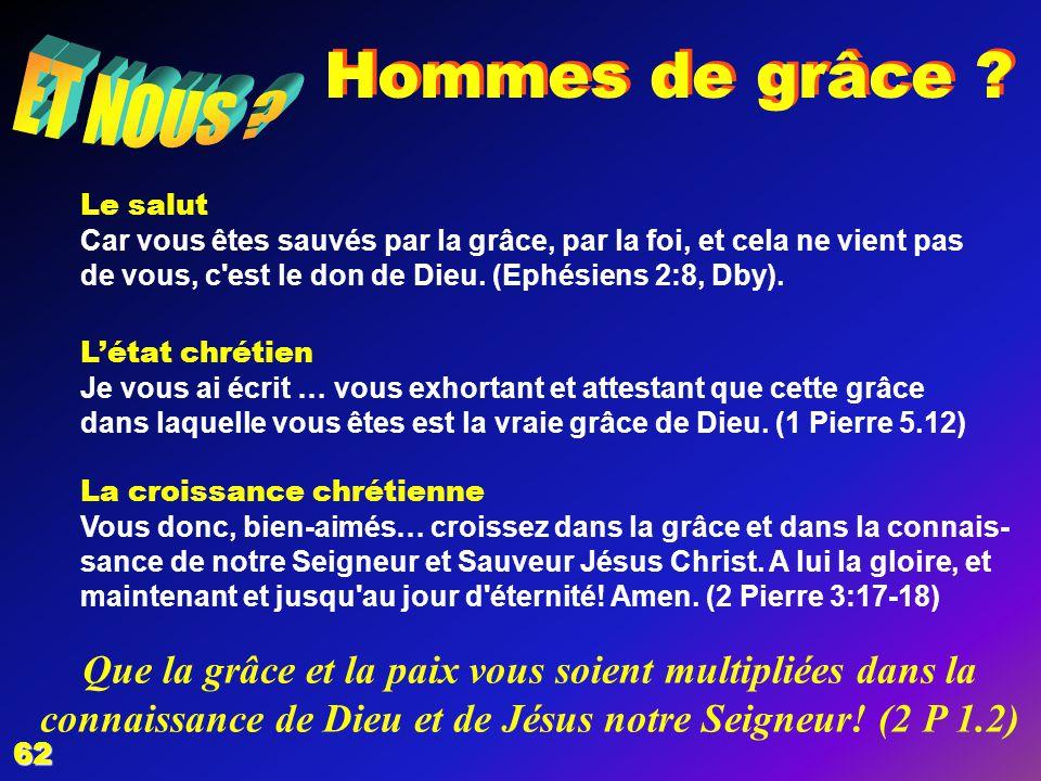 7 Homme de sainteté Séparé du mal il prend position contre lui, mettant en pratique linjonction divine: Vous qui aimez lEternel, haïssez le mal.
