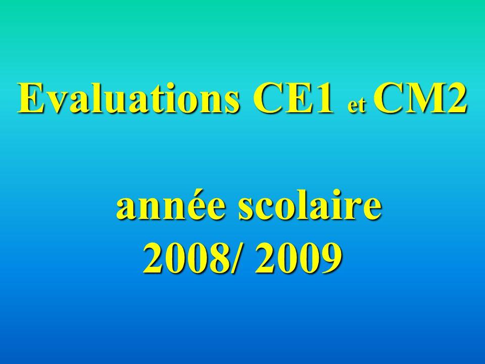 Évaluations CM2 51 % des élèves ont plus de 39 bonnes réponses.