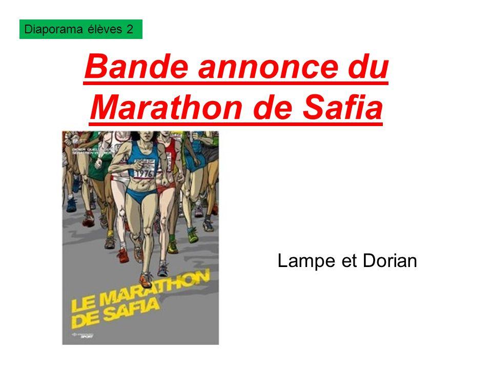 Bande annonce du Marathon de Safia Lampe et Dorian Diaporama élèves 2
