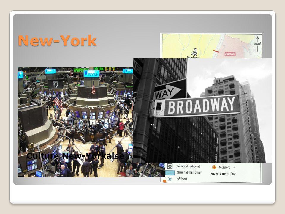 New-York Un Hub Mondial Une puissance financière Culture New-Yorkaise