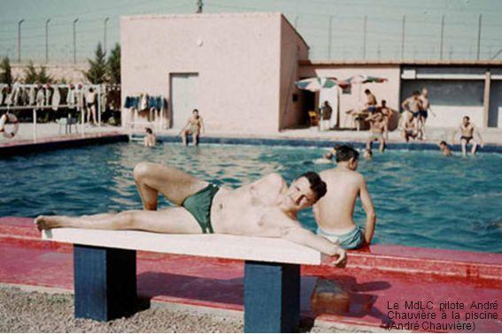 Le MdLC pilote André Chauvière à la piscine (André Chauvière)