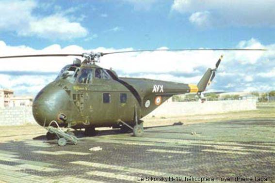 Le Sikorsky H-19, hélicoptère moyen (Pierre Tabart)