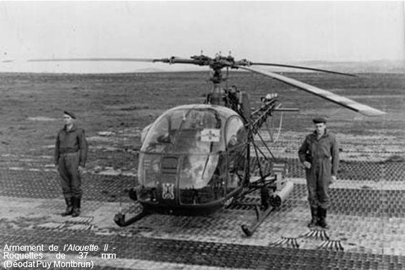 Armement de lAlouette II - Roquettes de 37 mm (Déodat Puy Montbrun)