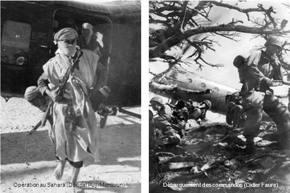 Opération au Sahara (Déodat Puy-Montbrun)Débarquement des commandos (Didier Faure)
