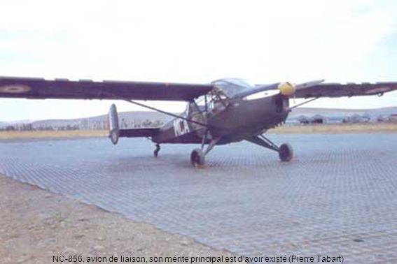NC-856, avion de liaison, son mérite principal est davoir existé (Pierre Tabart)