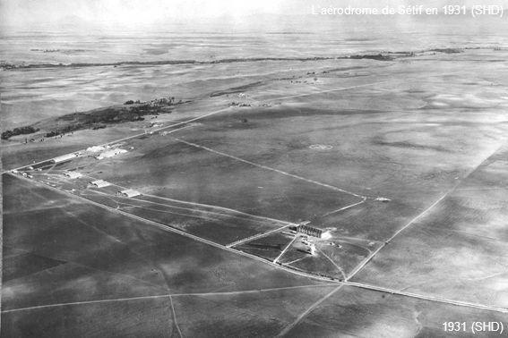 Laérodrome de Sétif en 1931 (SHD) 1931 (SHD)