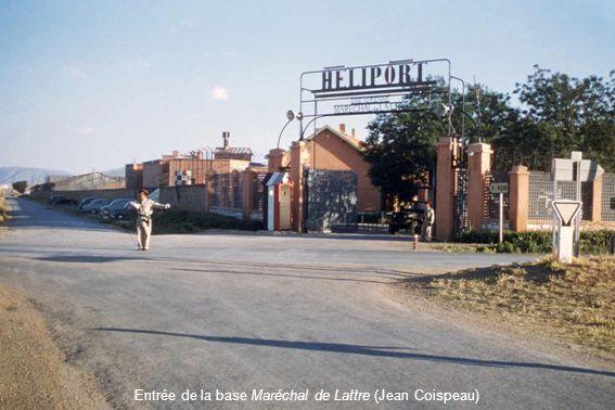 Entrée de la base Maréchal de Lattre (Jean Coispeau)