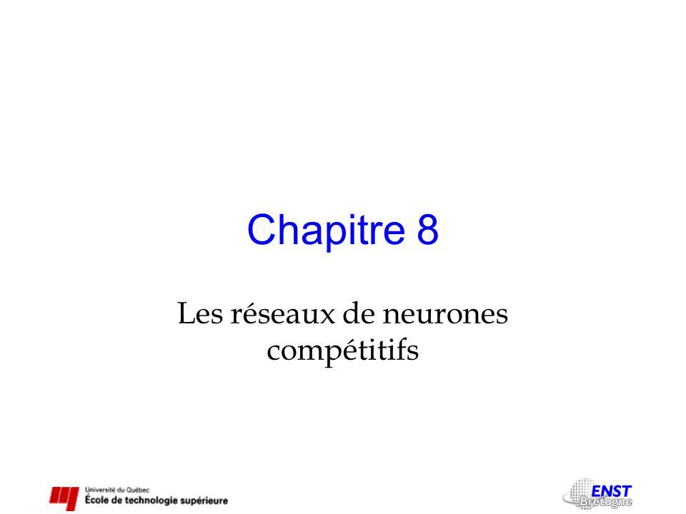 Chapitre 8 Les réseaux de neurones compétitifs