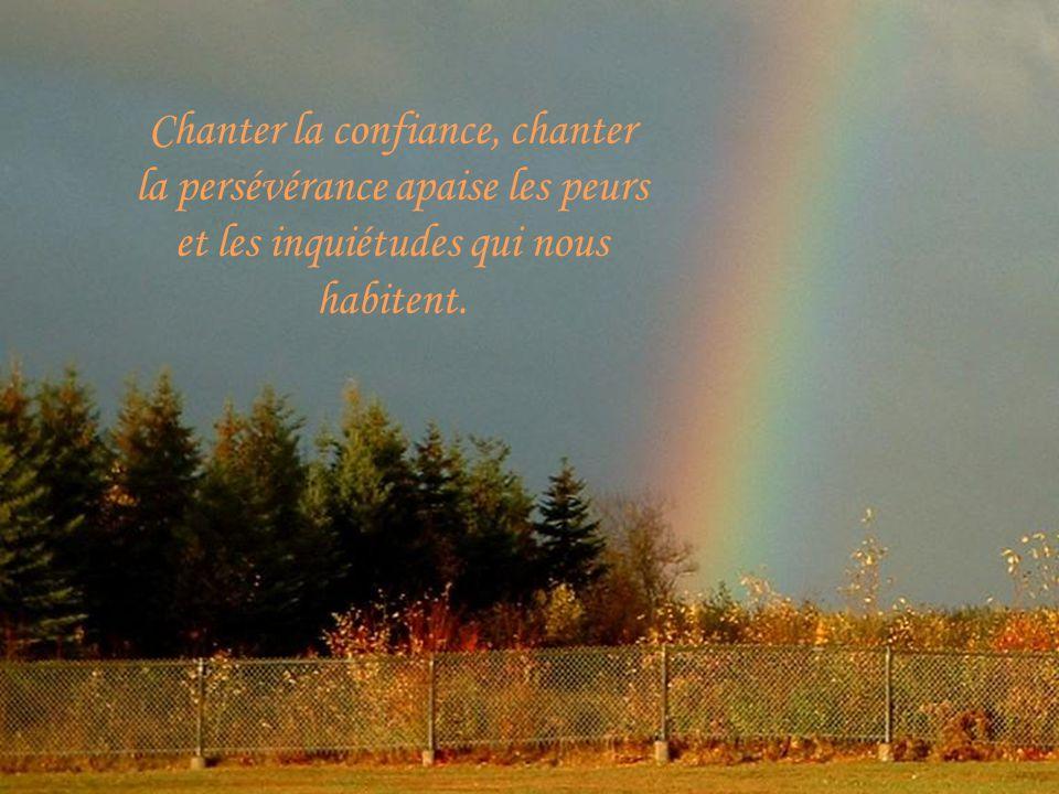 En effet, aucun orage, na autant de puissance que la force et le courage de notre chant intérieur.