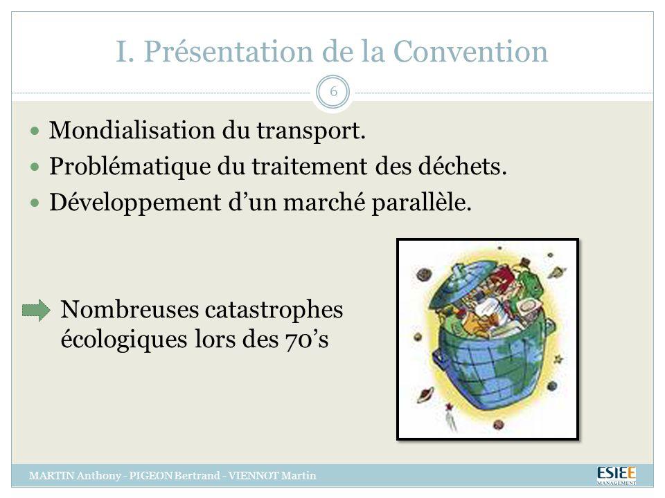 Convention de Bâle MARTIN Anthony - PIGEON Bertrand - VIENNOT Martin 27 Merci de votre Attention.