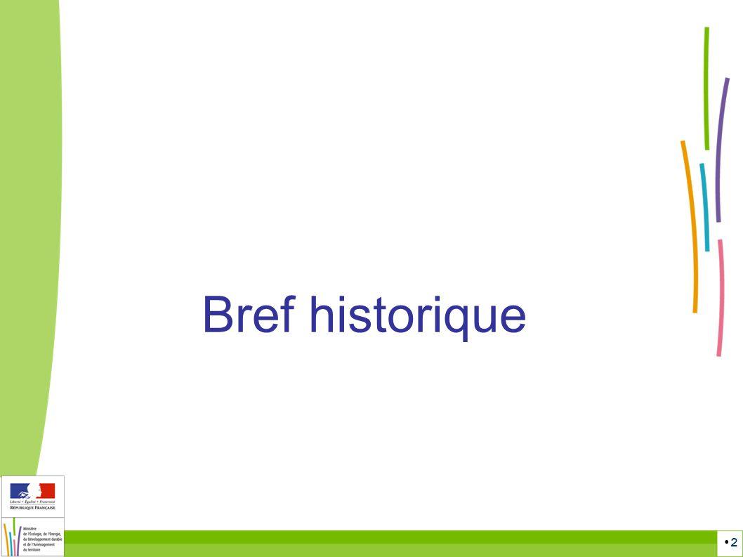 2 Bref historique