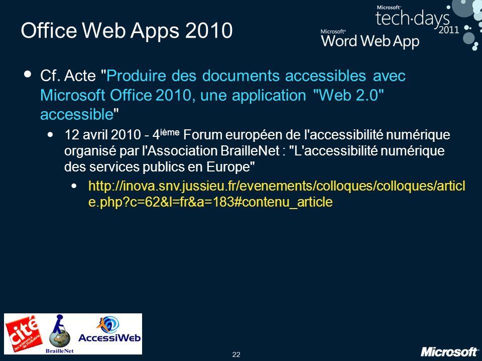 22 Office Web Apps 2010 Cf.