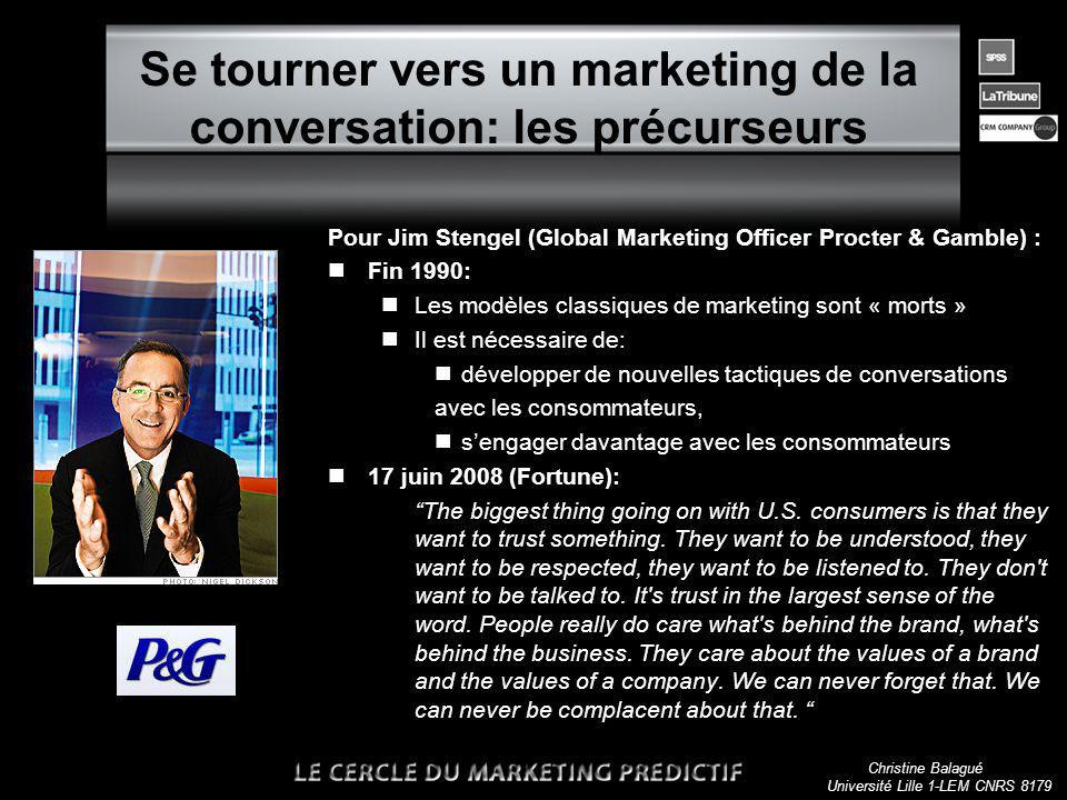 Christine Balagué Université Lille 1-LEM CNRS 8179 Les marchés sont des conversations A powerful global conversation has begun.