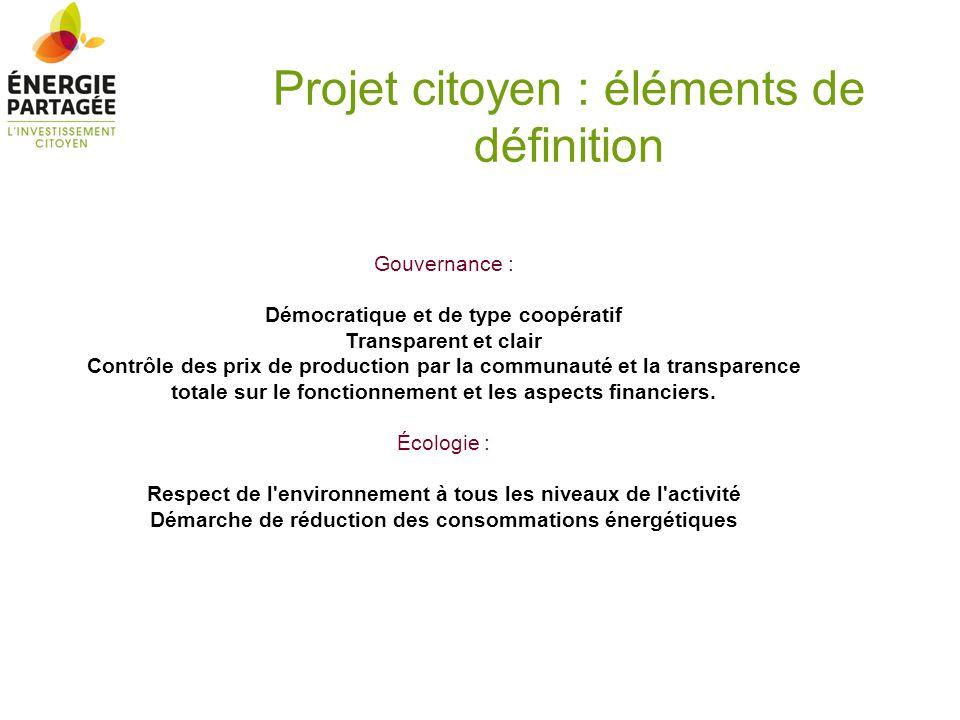 Gouvernance : Démocratique et de type coopératif Transparent et clair Contrôle des prix de production par la communauté et la transparence totale sur
