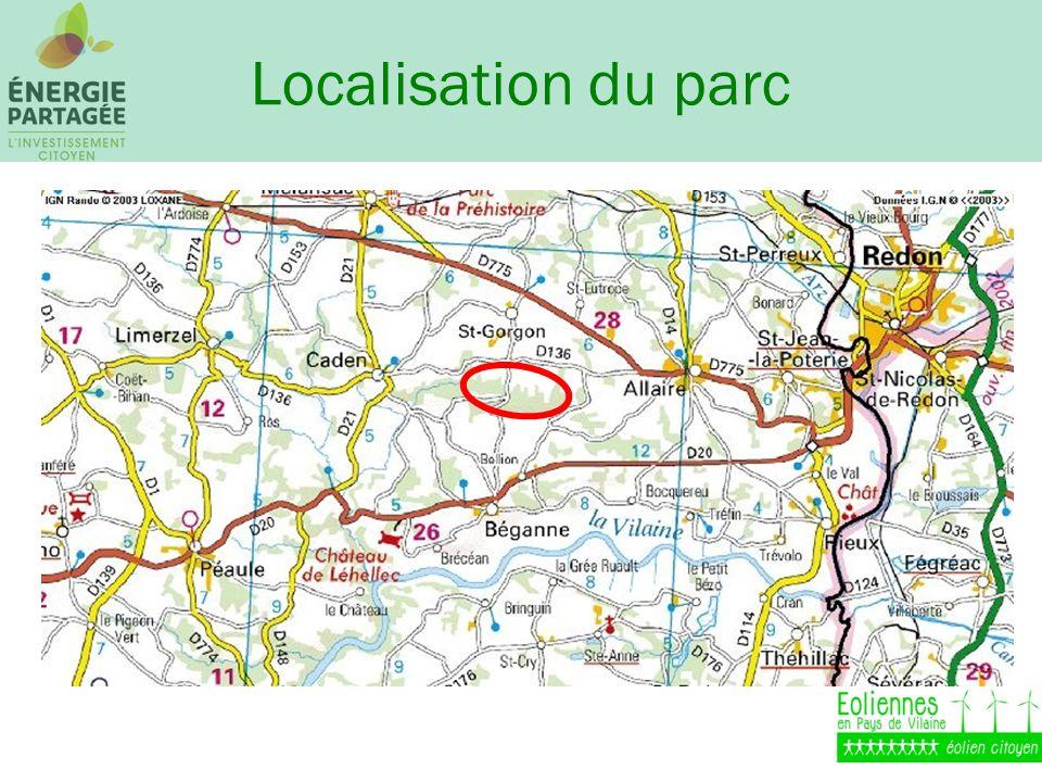 Localisation du parc
