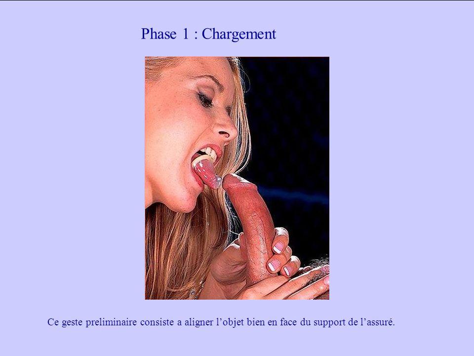 Phase 1 : Chargement Ce geste preliminaire consiste a aligner lobjet bien en face du support de lassuré.