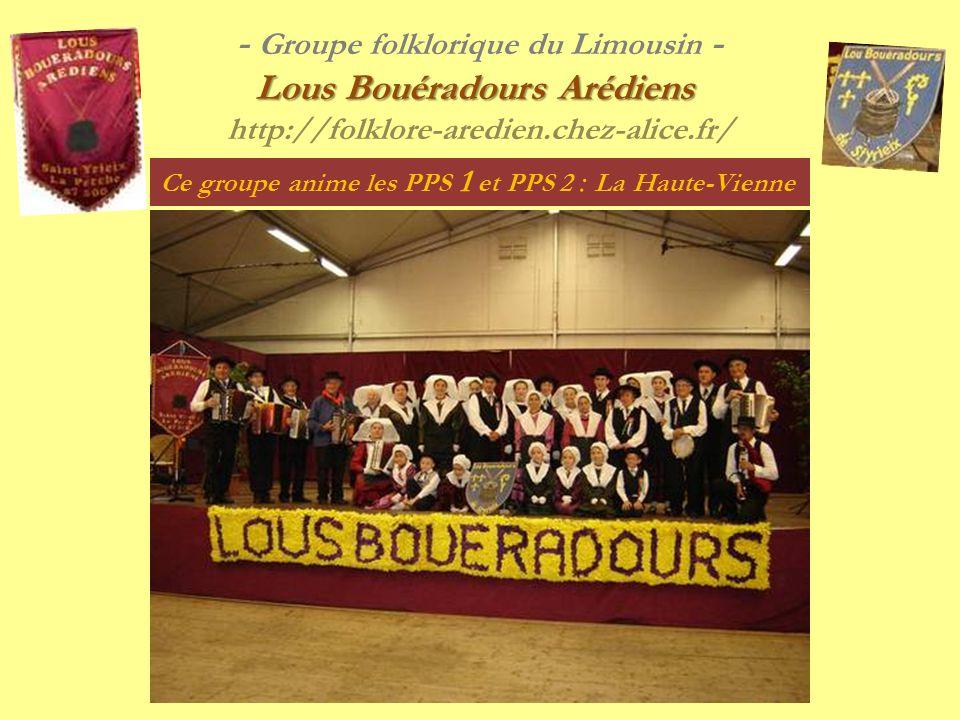 - Groupe folklorique du Limousin -.