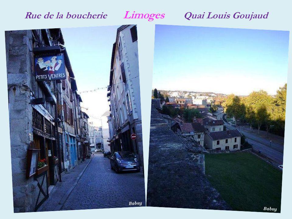 Limoges fontaine place de la République