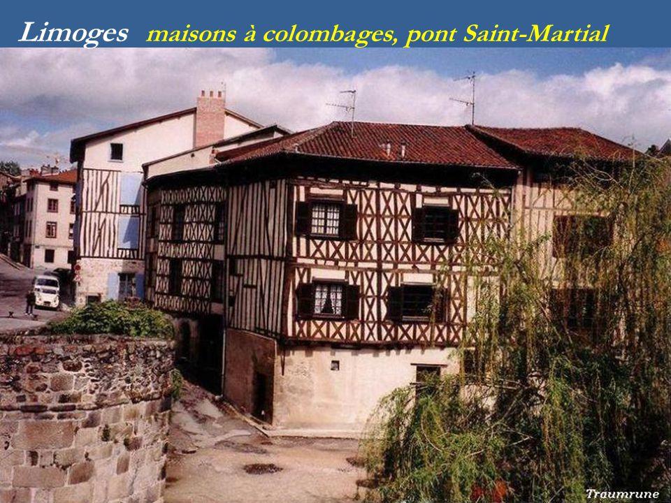 Rue de la boucherie Limoges Quai Louis Goujaud