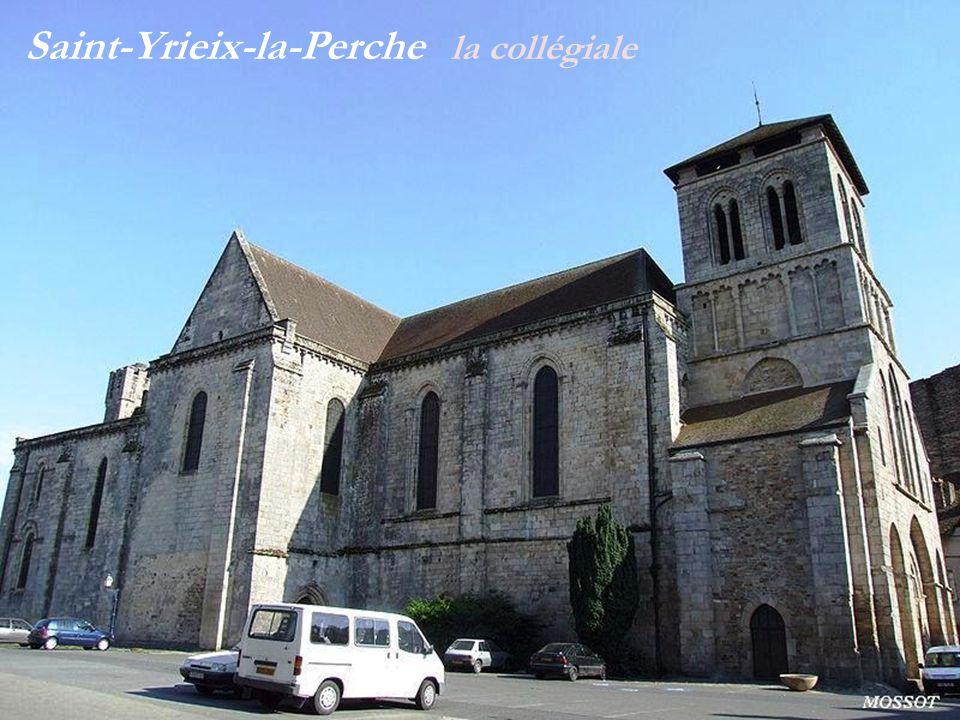 Saint-Yrieix-la-Perche la collégiale