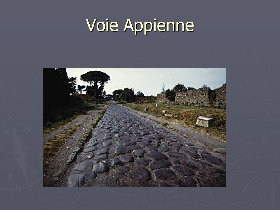 Voie Appienne