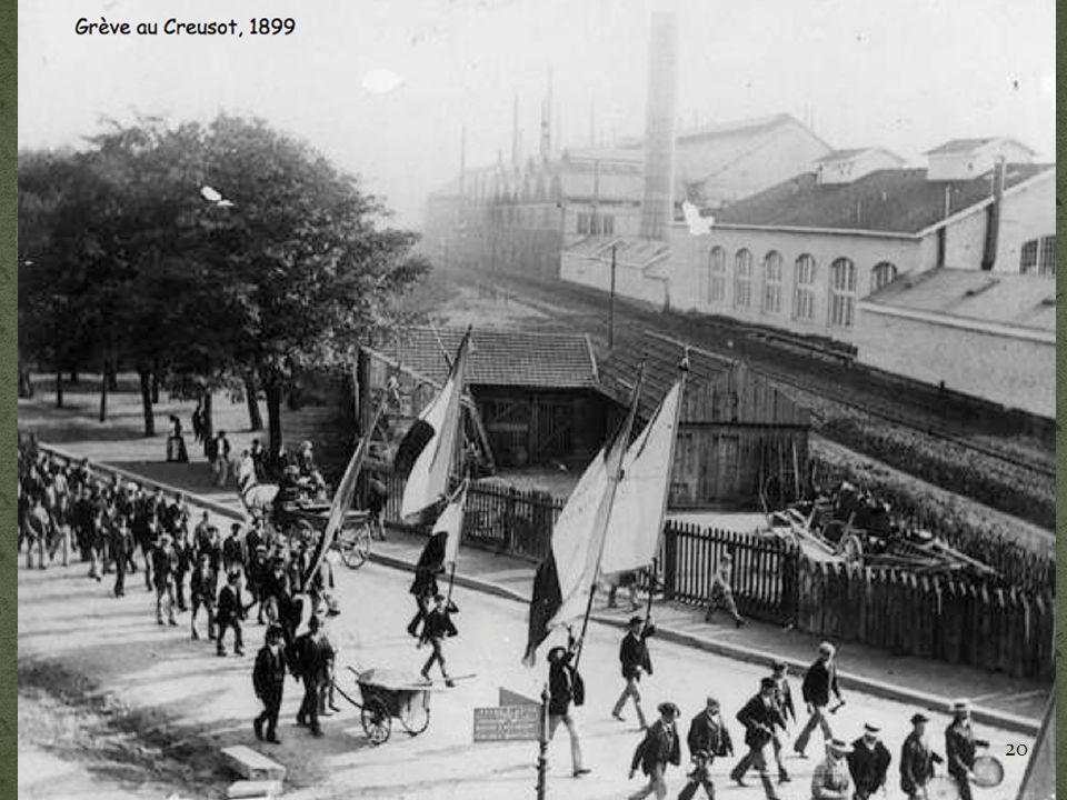 Grève au Creusot, 1899 20