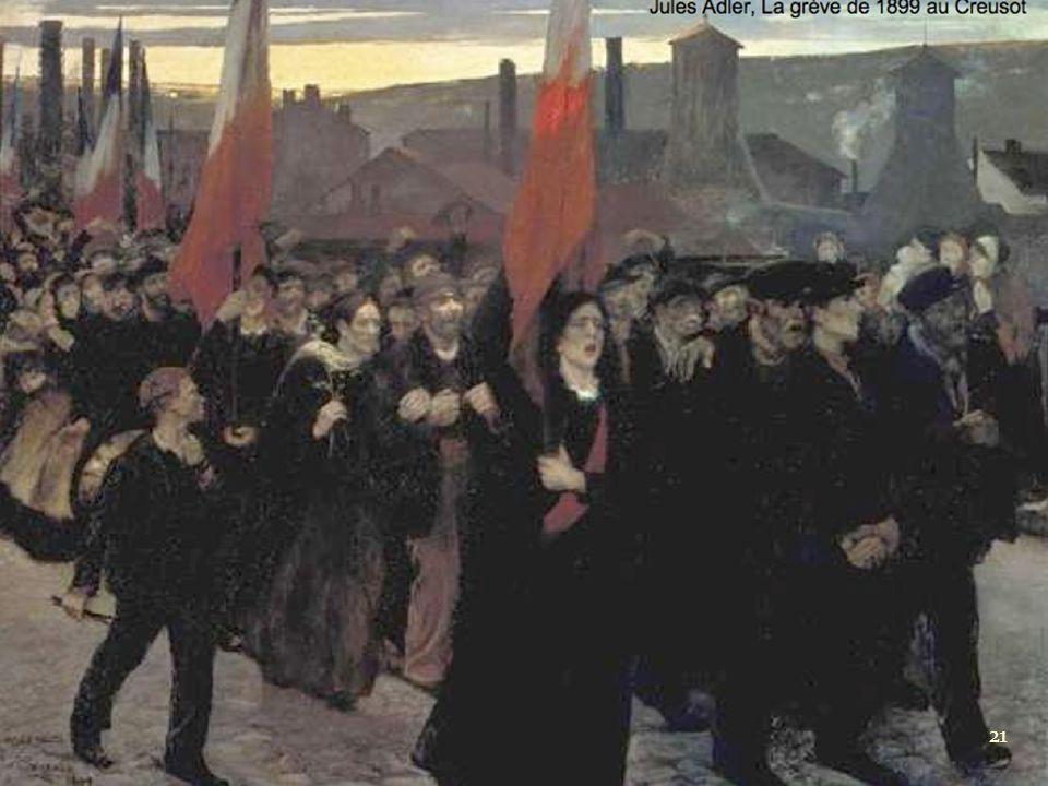 Jules Adler, La grève de 1899 au Creusot 21